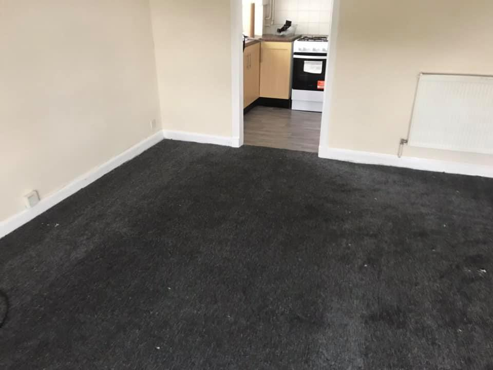 Carpet and Vinyl Flooring Project in Hamilton