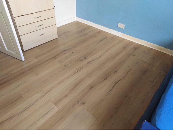 Bedroom Laminate Flooring Project in Lanarkshire